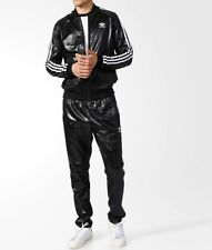 LG  adidas Originals MEN'S WET LOOK SUPERSTAR  CHILE TRACK TOP & TRACK PANTS
