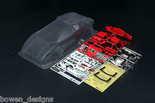 Clear Body Part Set Tamiya RC'80 Lamborghini Countach 1/12 GT-01 TamTech Gear TT