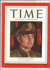 MAGAZINE TIME  General Ira Eaker AUGUST 30    1943