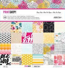 "Studio Calico Print Shop ! 12x12 "" Paper Pad 48 Sheets Scrapbooking NEW Release"