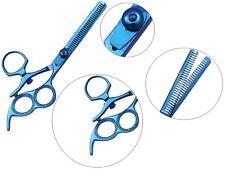 "6.5"" Thumb double Swivel professional hair dressing thinning scissors shears"