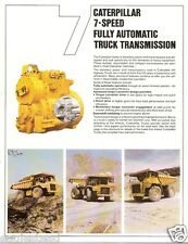Equipment Brochure - Caterpillar - Full Auto Transmission Mining Truck (E1023)