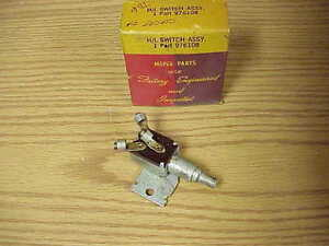 1942 DeSoto NOS MoPar Headlamp SWITCH S10 Hidden H/Lamp