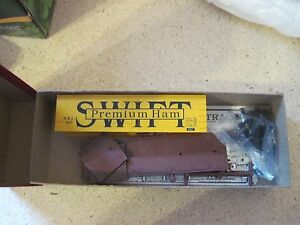 HO SCALE 36' WOOD REFEER SWIFT HAM BY BRANCHLINE TRAINS