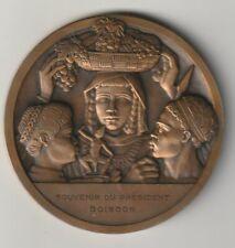RARE Médaille, L'Union Française 1949 ,EXPOSITION COLONIALE de PARIS 1931