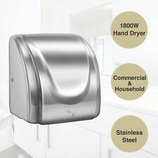 1800W Commercial and Household High Speed Electric Auto Electric Hand Dryer New