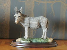More details for donkey vintage figurine from country artists 1980's