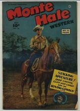 Monte Hale Western 38 Early Issue