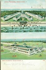 Cedar Point OH The Hotel Breaker and the Coliceum, 1908 Multi View