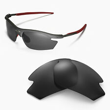 New Walleva Polarized Black Replacement Lenses For Rudy Project Rydon Sunglasses