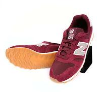 New Balance ML373 OBM Sneaker Damen Rot Weinrot Velourleder 37.5 633061-60-18