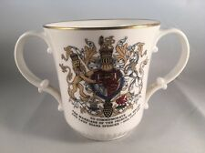 Royal Doulton China Loving Cup 1981 Royal Wedding Charles & Diana