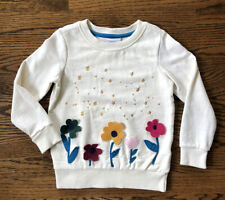 Hanna Andersson Sweatshirt - Girls Size 110 Size 5 - PERFECT CONDITION
