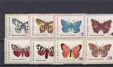 a122 - BULGRIA - SG1337-1344 MNH 1962 BUTTERFLIES & MOTHS