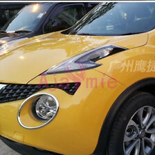 For Nissan Juke 2011-2016 2017 Headlight Lamp Cover ABS Car Styling Accessories