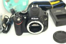 Free Ship Nikon D D5100 16.2MP Digital SLR Camera - Black from Japan