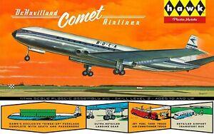 Hawk Plastic Models De Havilland Comet Airliner 1/144 Scale Plastic Assembly Kit