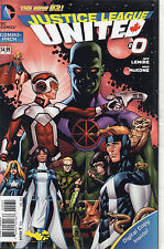 Justice League United #0 (NM)`14 Lemire/ McKone (Combo- Pack)