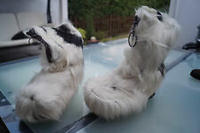 ESKIMOD Damen Winter Schnee Schuh Stiefel Boots Fellstiefel Pelz Leder Gr.37 #93