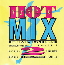 HOT MIX COMPILATION VOL. 2 - VARIOUS (CD) - 1993 Globo Records - 508 323-2