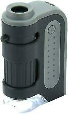 Carson MM-300 MicroBrite Plus LED 60 - 120x Pocket Microscope - Black/Gray
