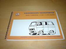 VW TRANSPORTER CAMPER CARAVELLE T25 TURBO DIESEL Owners Repair Manual Handbook