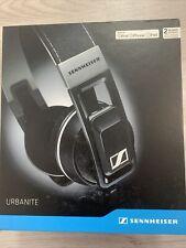 NEW Sennheiser Urbanite Black Headset Headphones iPod iPhone iPad