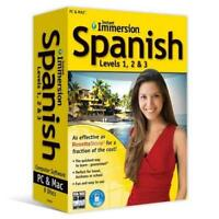 Instant Immersion Spanish Levels 1 2 And 3  - by Instant Immersion