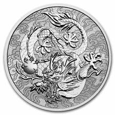 Australia 2021 Silver Dragon Myths & Legends Argent Australie 1 oz (in capsule)