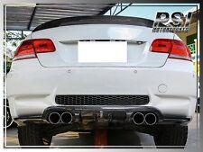 HM Style Carbon Fiber Bumper Diffuser For BMW E92 E93 M3 Coupe Convertible 08-13