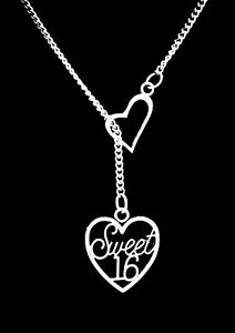 Sweet 16 Necklace Gift for 16th Birthday Sweet 16 Birthday Gift Personalized Sweet Sixteen Necklace 14kt Gold Rose Gold Silver