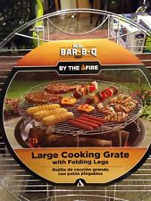 Mr. Bar B Q -  Round Large Stainless Cooking Grate - w/Folding Legs -NEW -LOOK !