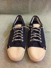 Greats Wilson Canvas Sneakers Men's Lace Up Casual Shoes Sz Is 8 Uk 7 Navy