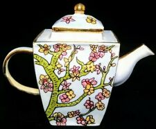 Vincent Van Gogh Museum Almond Blossom Hand Painted Enamel Mini Teapot Amsterdam