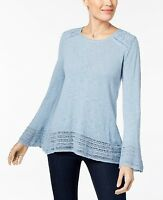 Style & Co Women's Bell Sleeve Knit Top Size XL