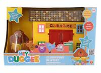 Hey Duggee Clubhouse Playset Ages 3+ New Toy Play Boys Doll Girls Cat Chair Gift