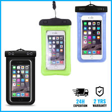"""UNIVERSAL Waterproof Under Water Dry Pouch iPhone Smartphone Case Bag 5.8"""" Color"""