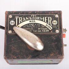 Vintage Toy Train Transformer Louis Marx & Co CAT. NO. 1239