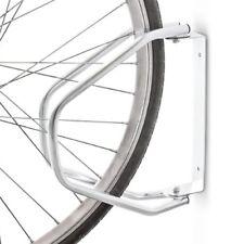 Relaxdays - Râtelier inclinable pour 1 Vélo Argent