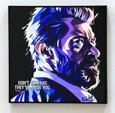Logan 2017 Hugh Jackman canvas quotes wall decals painting framed POP ART poster