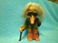 """Ny Form Norway Troll Doll 6"""" Old Woman with Stick #145  MAKE OFFER  very cool"""