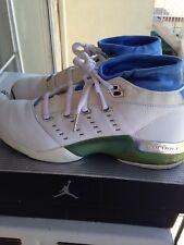 Original Air Jordan 17 XVII Low White University Blue Size 11  2002