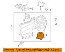 TOYOTA OEM 2011-2018  Sequoia Sienna Front A/C Heater Blower Motor 87103-0C051