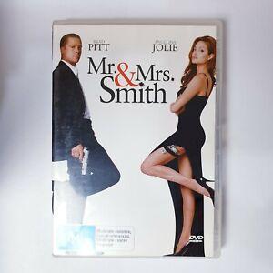 Mr & Mrs Smith Movie DVD Region 4 AUS Free Postage - Comedy Romance Action