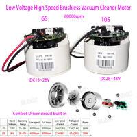 US Low Voltage High RPM Brushless Vacuum Cleaner Motor 24V 36V DC Digital Motor