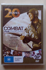 Combat Film Collection - Twenty Action-Packed Features - 4 DVD set  free post