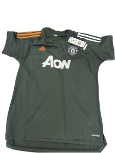 NWT Adidas 2020-21 Manchester United Training Jersey Shirt - Women's Medium