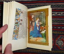 FACSIMILE EDITION: AN ILLUMINATED FRENCH BOOK OF HOURS. JEAN BOURDICHON STYLE