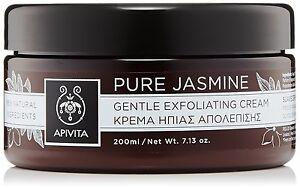 Apivita Pure Jasmine Gentle Exfoliating Cream with Jasmine, 200ml