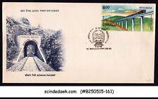 INDIA - 1998 KONKAN RAILWAY - FDC